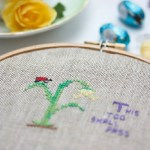 A little easter cross stitch