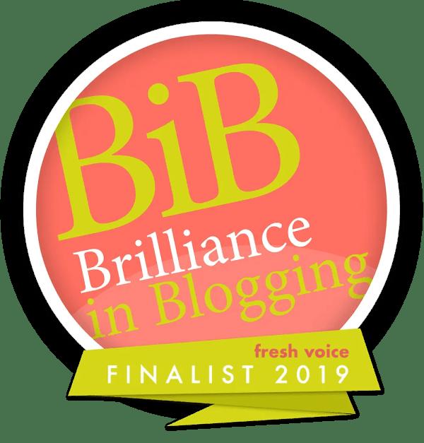 BiBs Blogging Awards 2019 GinGin & Roo Finalists BritMums