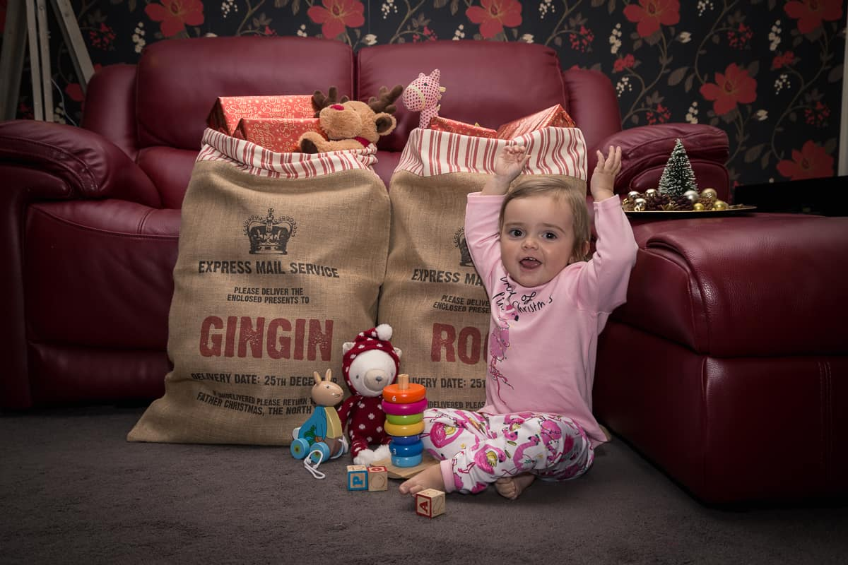 Make Christmas extra special with these fabulous present sacks from Harrow & Green by award-winning blog GinGin & Roo