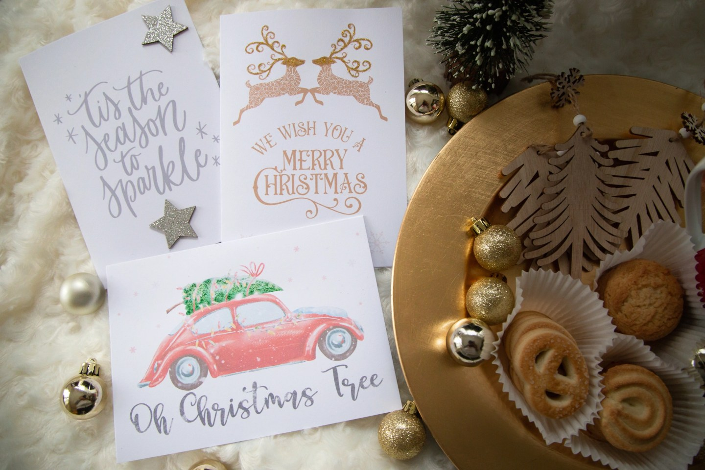 Crafting Christmas Cards with Design Bundles