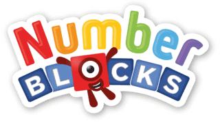 Toddler TV show Number blocks logo