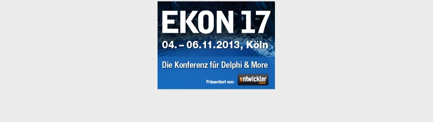 I'm Speaking at EKON 17, too