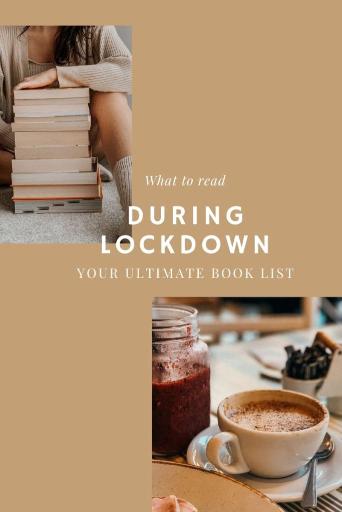 Books to read during lockdown cover