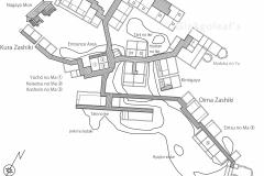 Ryugon Lageplan