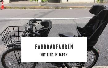 Fahrradfahren mit Kind in Japan