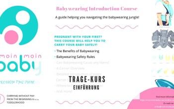 Babywearing Introduction Course – ein Grund für meine Abwesenheit