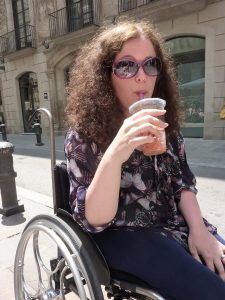 Photo of Lorna, wheelchair-user and blogger at Gin & Lemonade. Gin & Lemonade is a blog about life, parenting, family travel, and being a disabled mother.