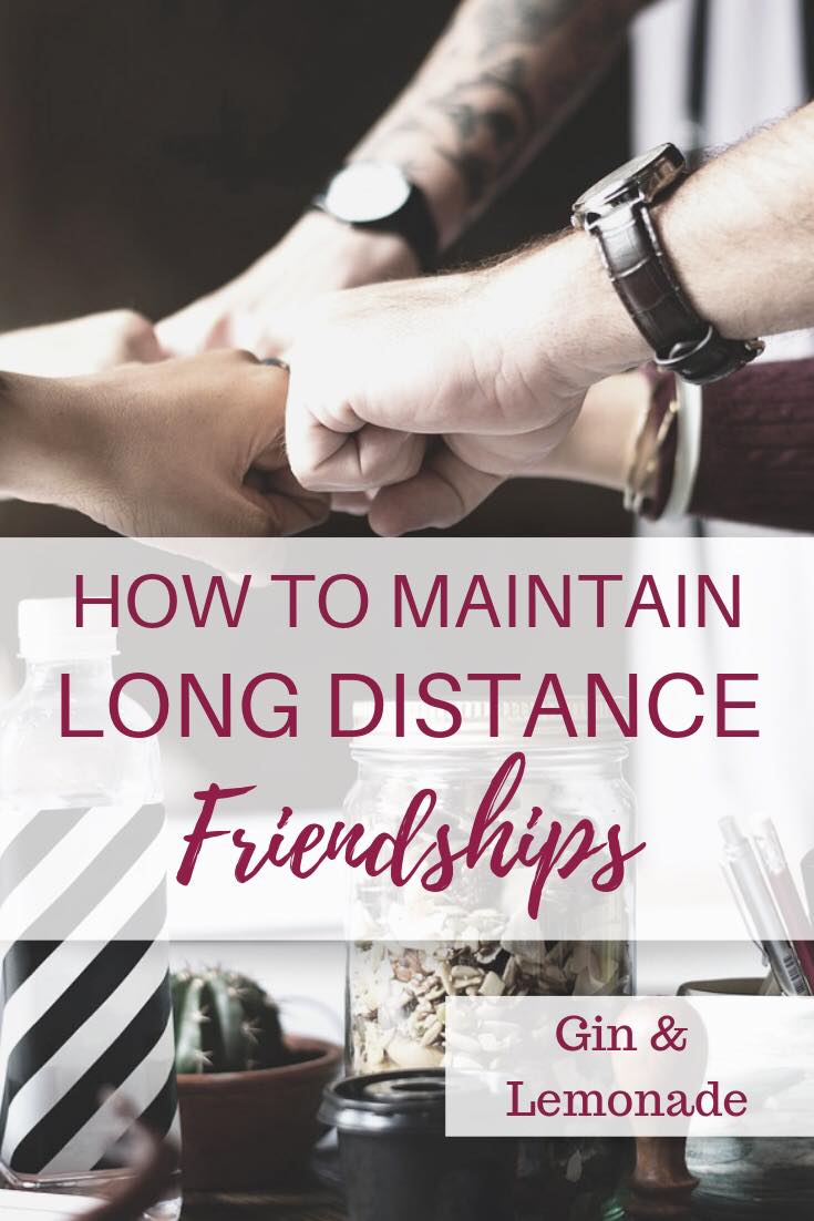 How To Maintain Long Distance Friendships
