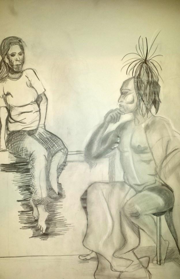 Figure Drawing Pair 2