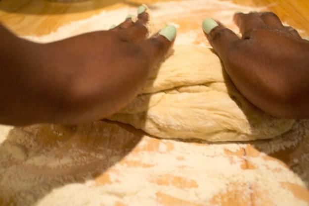 Skillet Flatbread - Knead Dough