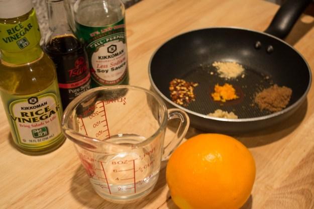 Asian Orange Sauce - Ingredients