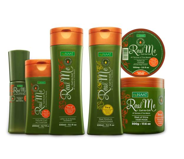 The Real Me Curl-to-Coil Collection by nuNAAT