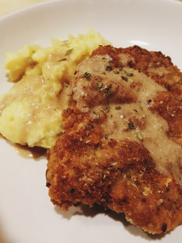 Country Fried Steak - Plated 1