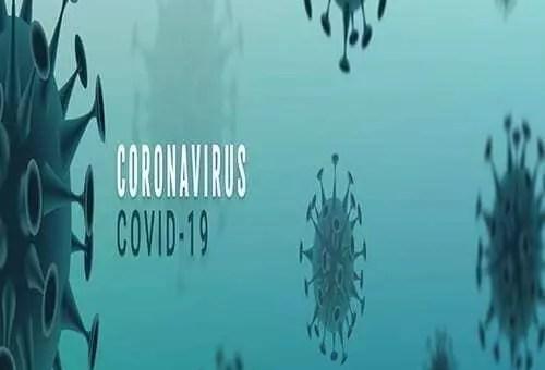 COVID-19 virus graphic