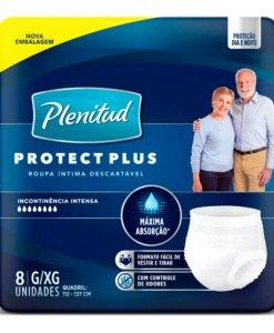 Roupa Intima Plenitud Protect Plus com 8 Unidades G e XG