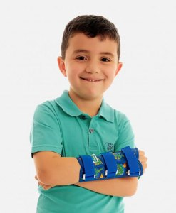 Tala para Punho com Dedos Livres Curta Chantal Kids