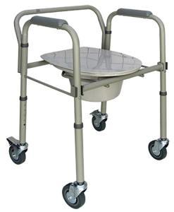 Cadeira de Rodas para higienização Praxis Modelo SCMF202W