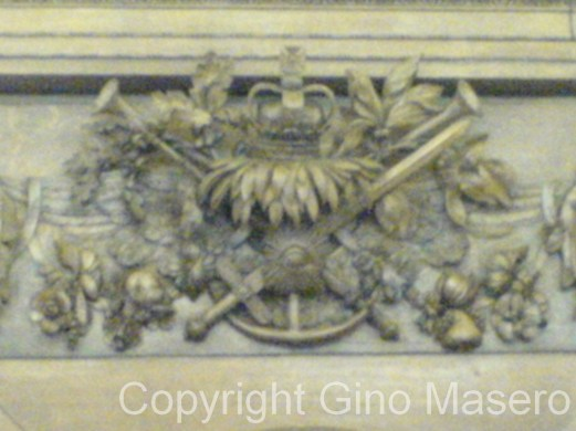 Gino Masero - Admiralty Boardroom Carvings