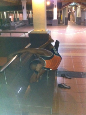 Have they solved the homeless sleeping in public places? (5/6)