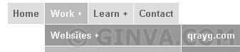 4 level deep CSS menu system - Drop Down CSS Menus