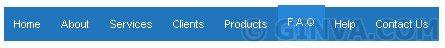 Create a pretty cool, simple, horizontal CSS menu