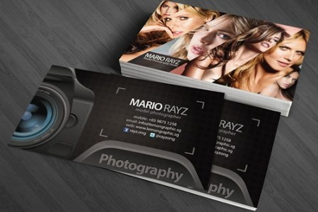 33 Cool Photographer Business Cards  PSD and Examples    Ginva