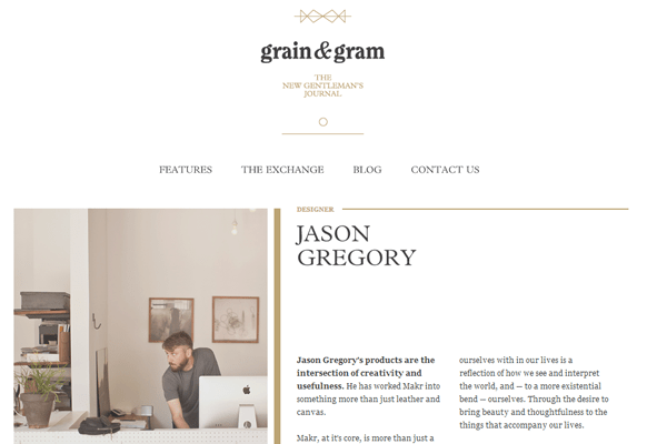 A Few Examples Of Clean And Minimalist Web Design