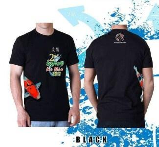 Koi fish show buglasan tshirt black 2nd Buglasan Koi Show 2017