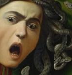 "Caravaggio, ""Medusa"", detail (1599)"