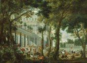 "Wilhelm Schubert van Ehrenberg, ""Ulysses at the palace of Circe"" (1667)"