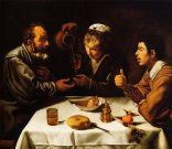 """Diego Velázquez, """"The Farmers' Lunch"""" (1618)"""