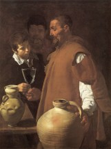 """Diego Velázquez, """"The waterseller of Seville"""" (1622)"""