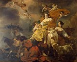 "Nicolaes Pietersz Berchem, ""The rape of Europa""  (1649)"
