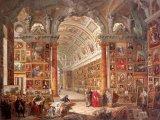 "Giovanni Paolo Pannini, ""Interior of a picture gallery with the collection of Cardinal Silvio Valenti Gonzaga"" (1740)"