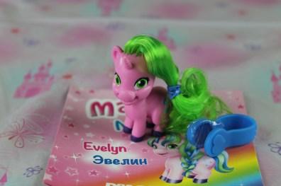 Evelyn è l'unicorno dell'avventua, la migliore amica è Felicity.