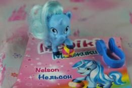 Nelson è l'unicorno dei giochi, la migliore amica è Evelyn.