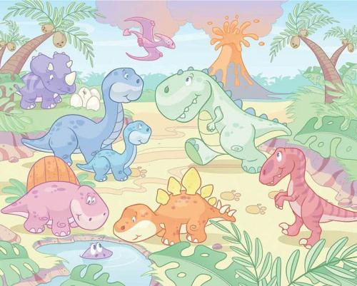 Scegli la consegna gratis per riparmiare di più. Carta Da Parati Walltastic Per Cameretta Baby Dinosauri