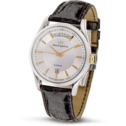 orologio-philip-watch-sunray-r8221680001-automatico-cinturino-in-pelle-tempo-data-giorno-della-settimana-novità-promozioni-prezzi-sconto-pescara-montesilvano