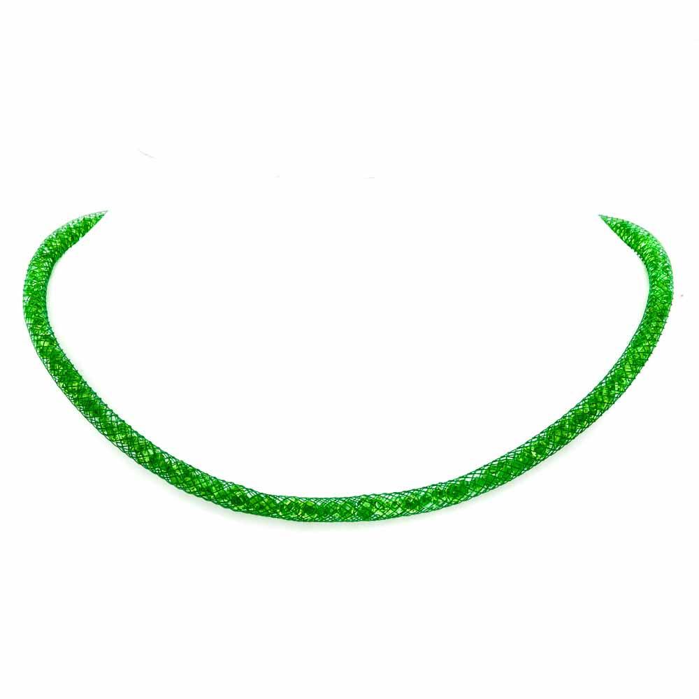 Collana particolare verde