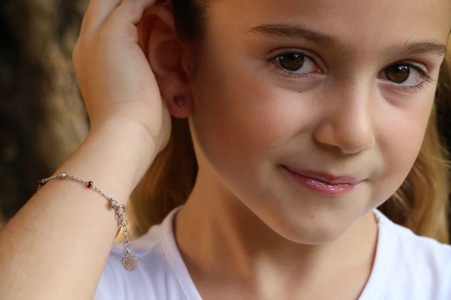 bracciale bambina argento 925 da regalare