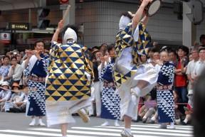 ayagasa boko drummers dancing gion festival kyoto japan