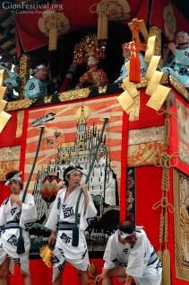 Men across generations test their concentration and endurance in the various festival roles.