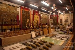 ennogyoja yama treasures display gion festival kyoto japan