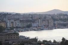 Panorama de Tulcea, depuis le Monument d'Indépendance.