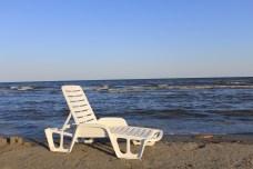 La plage de Sulina, mer Noire. Crédit photo: archive personnelle