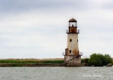 Le vieux phare de la digure Nord. Crédit photo: Iliuta Goean