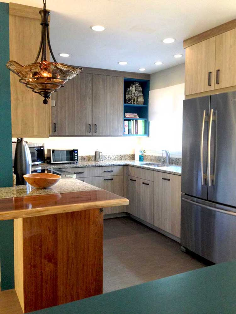 Two Wall Kitchen Designs