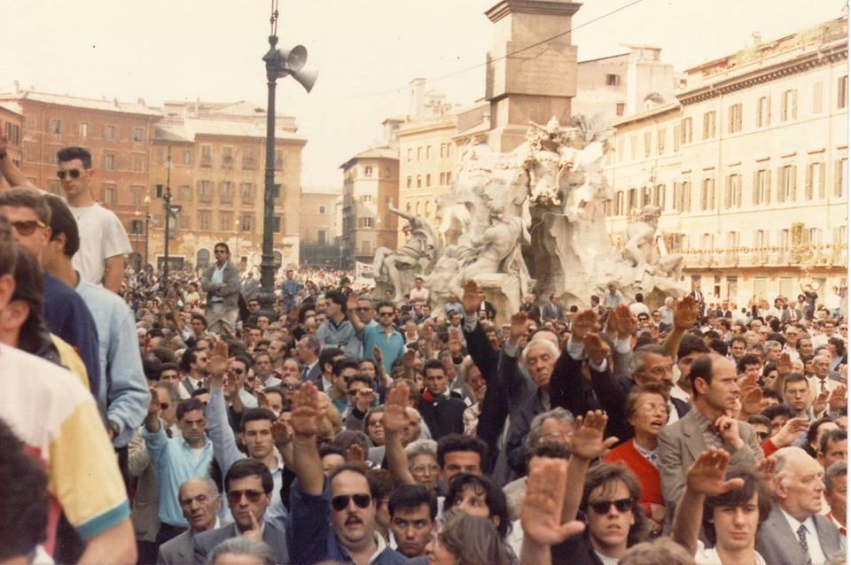 Nel ricordo di Almirante e Romualdi - 21/22 maggio 1988