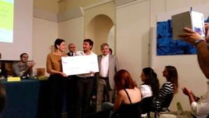 Pietro Di Leo premia i primi classificati