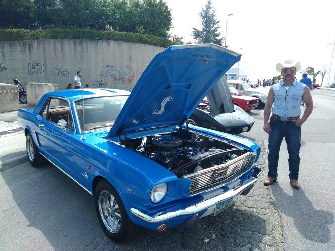 La Regina Del Matera Auto Story La Mustang Di Francesco Giornalemio It